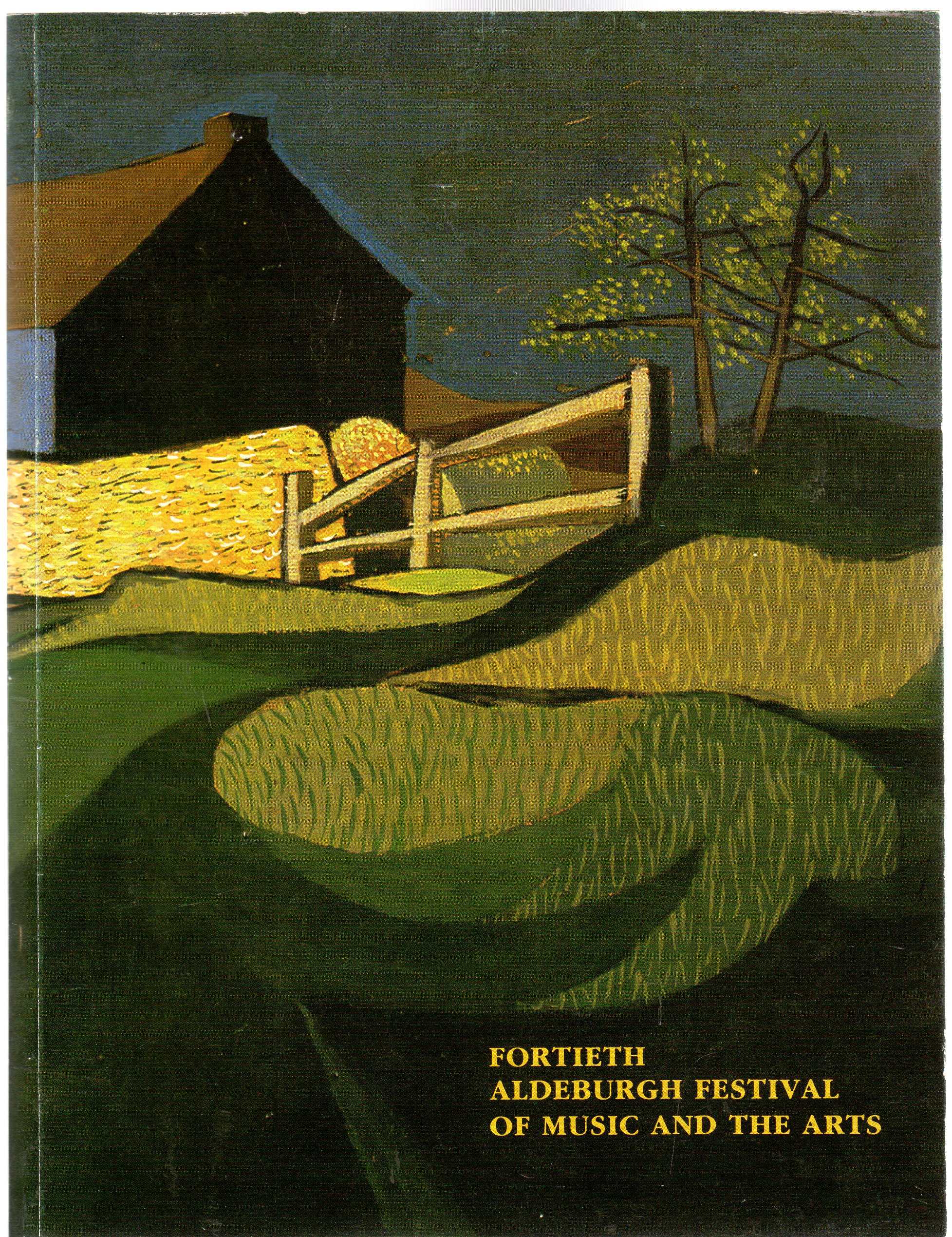 Image for Fortieth  Aldeburgh Festival of Music and the Arts : 12-28 June 1987