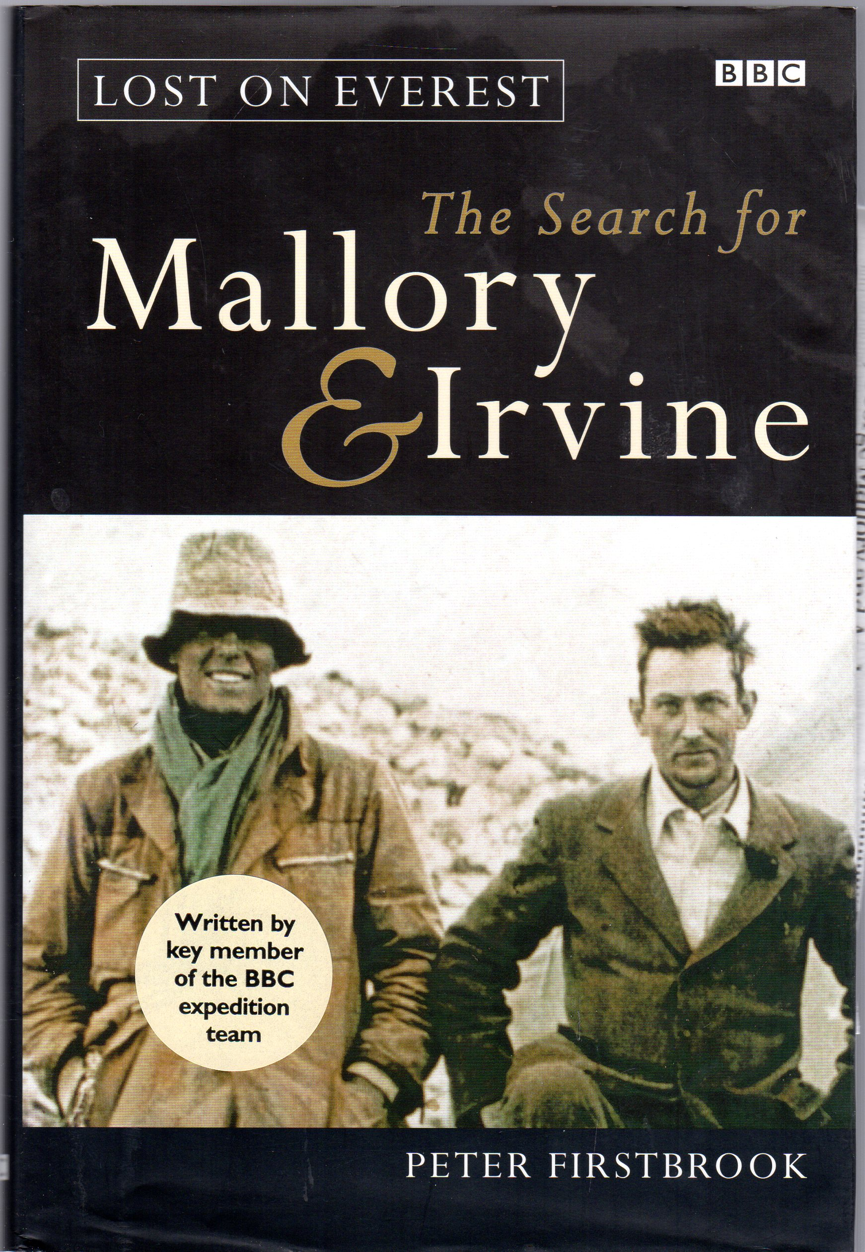 Image for Lost on Everest: The Search for Mallory and Irvine