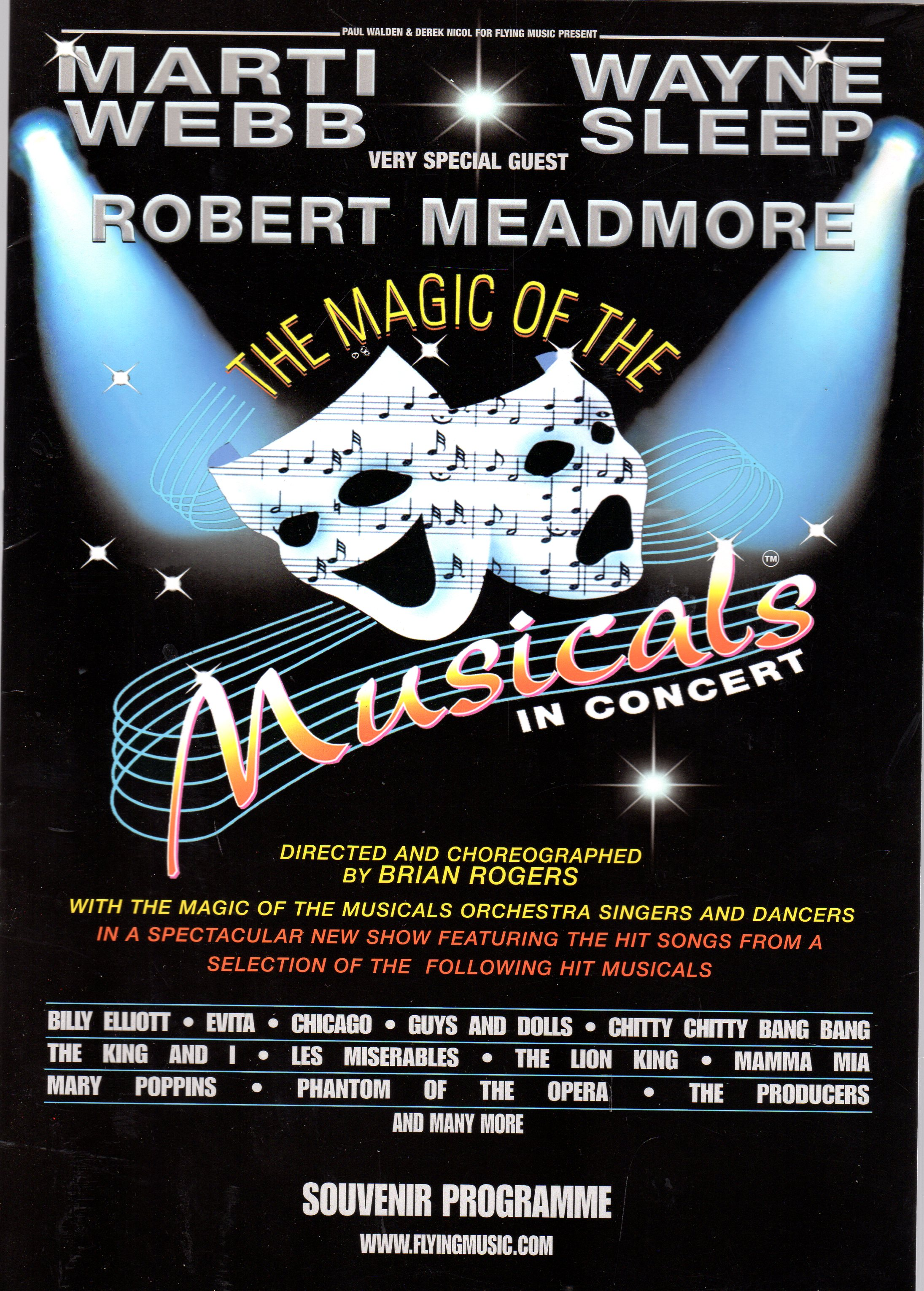 Image for The Magic of the Musicals in Concert (SOUVENIR PROGRAMME)