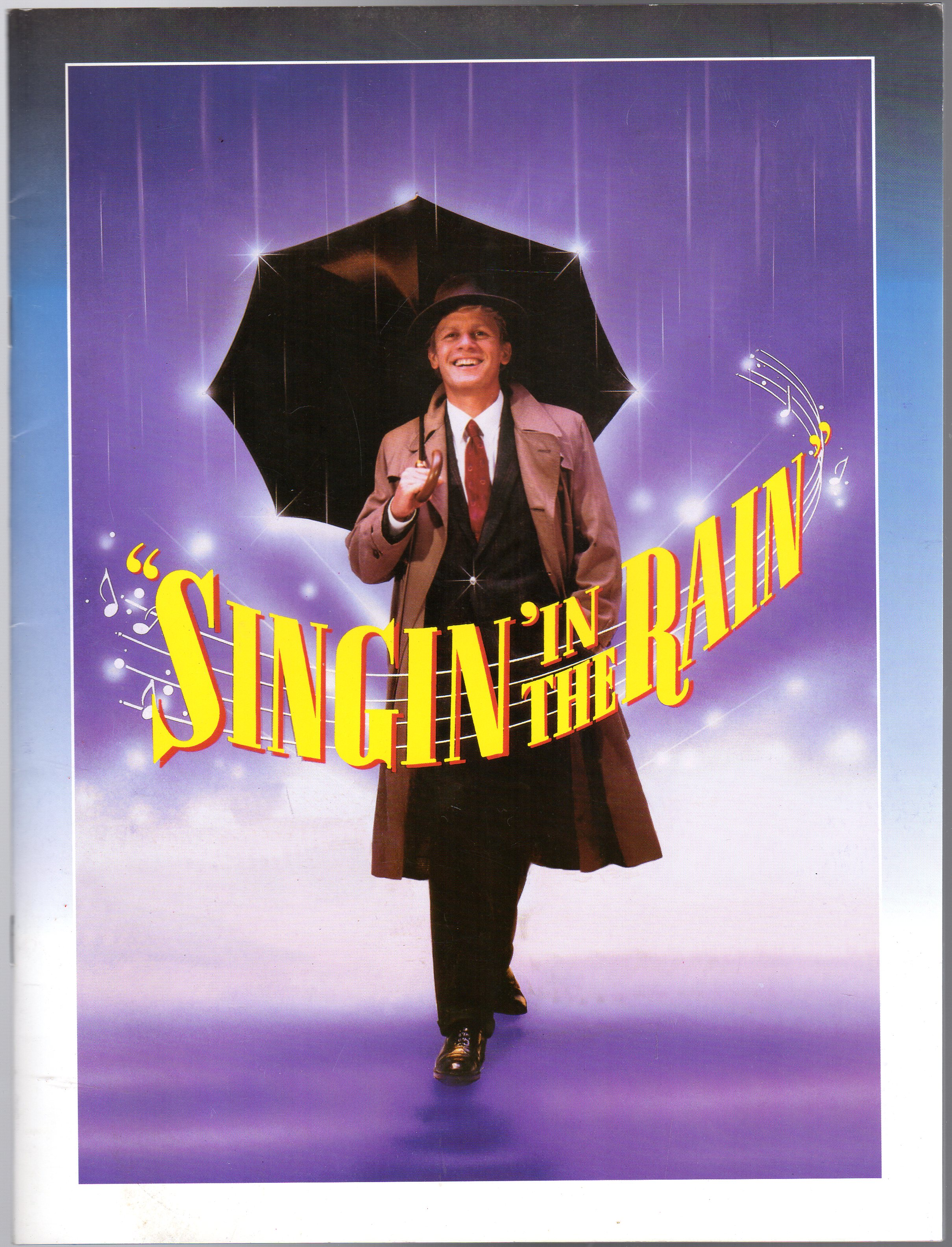 Image for Singing in the Rain (THEATRE PROGRAMME )