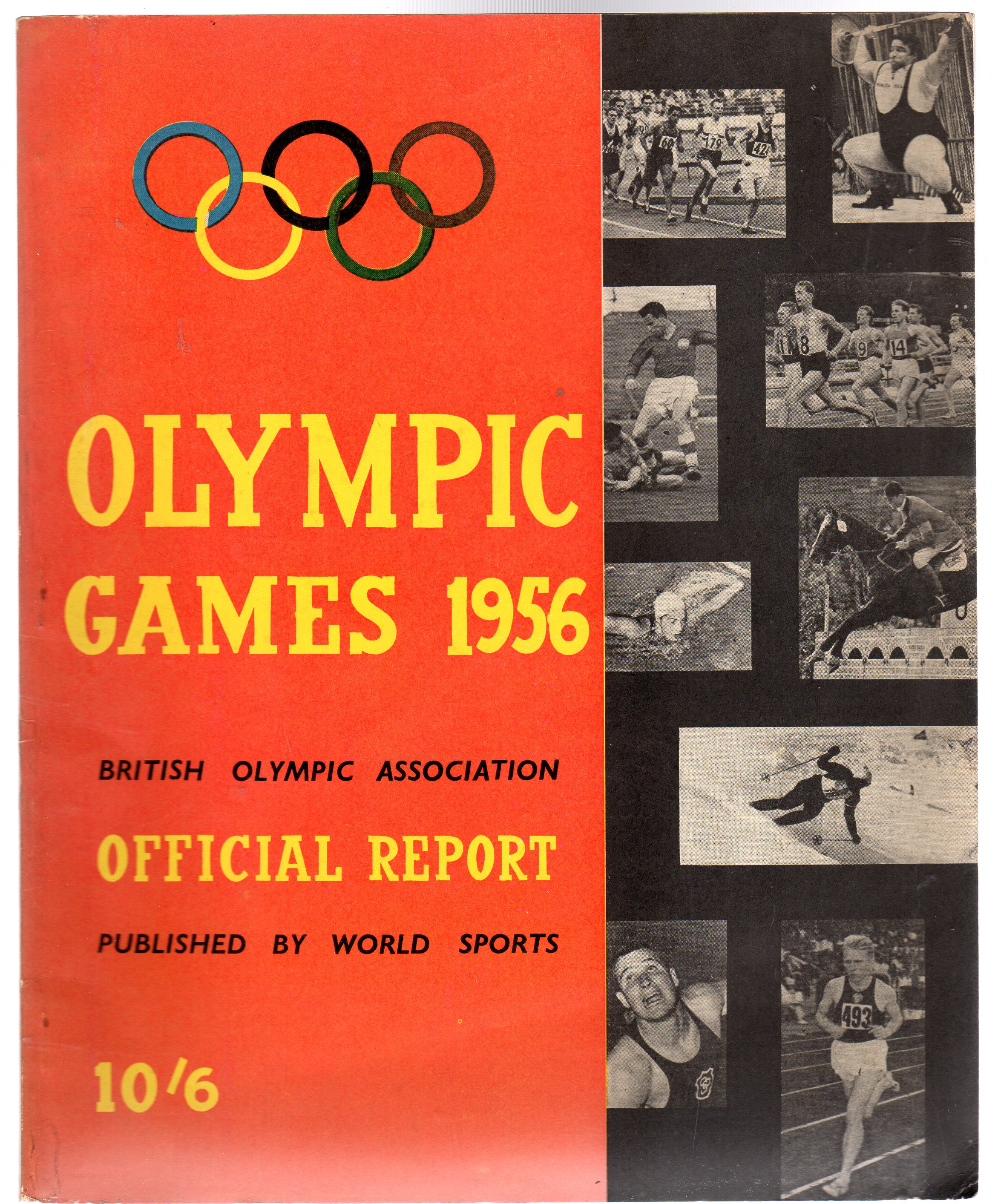 Image for British Olympic Assocation, Official Report of the Olympic Games 1956