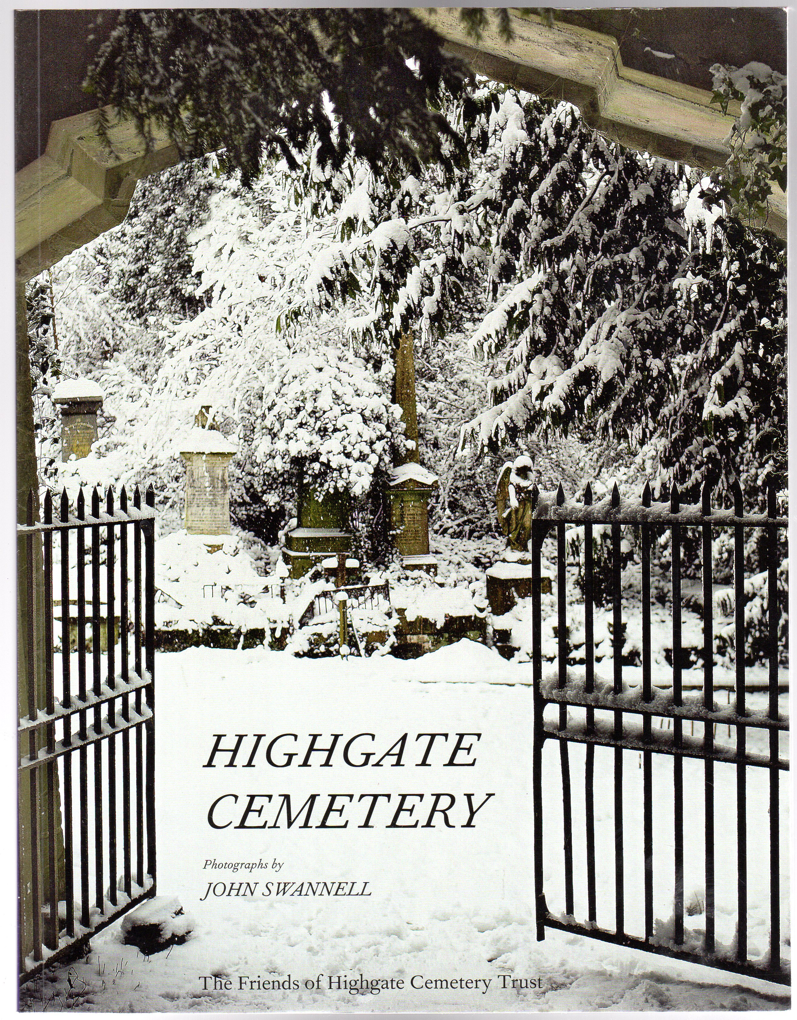 Image for Highgate Cemetery (SIGNED COPY)