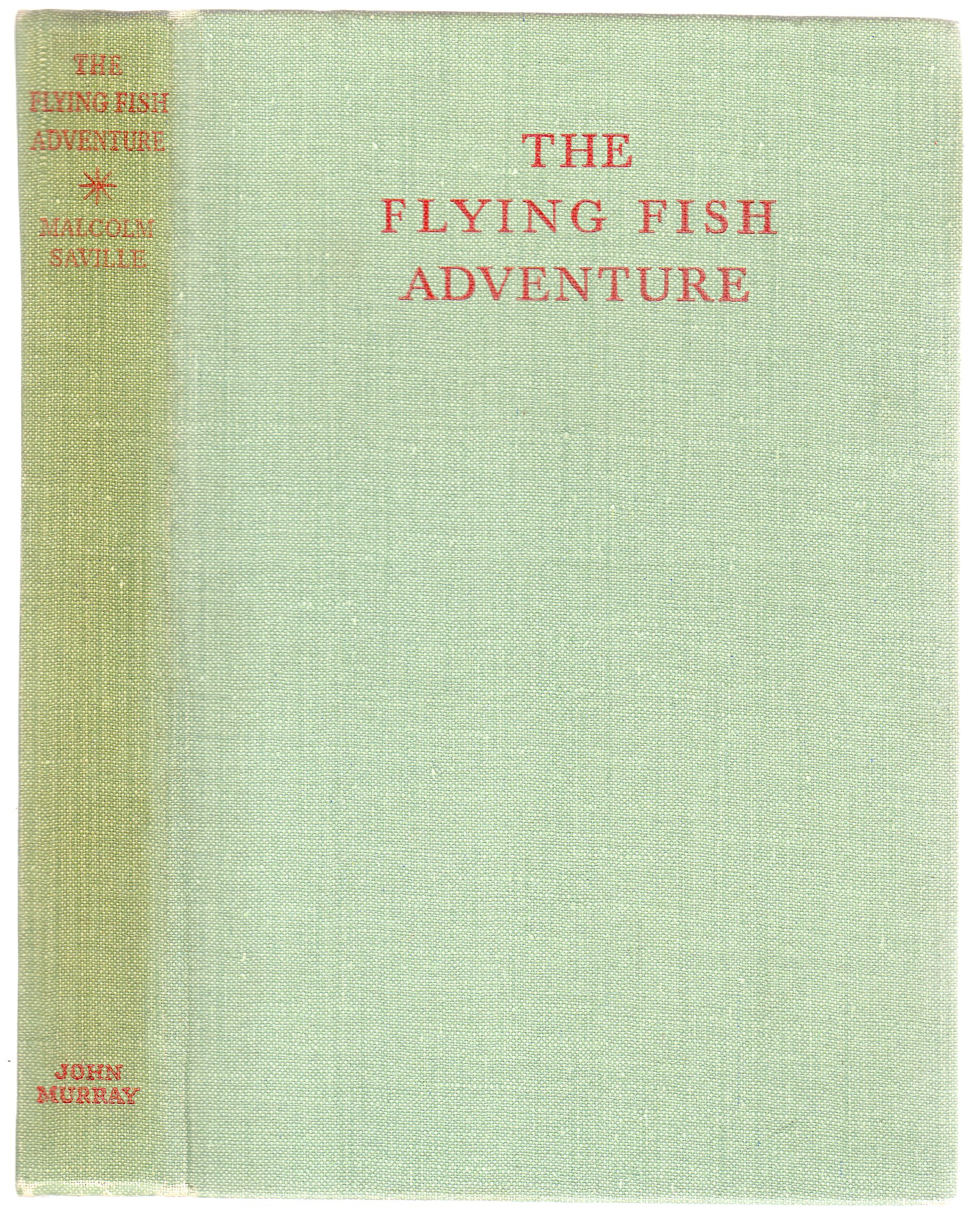 Image for The Flying Fish Adventure