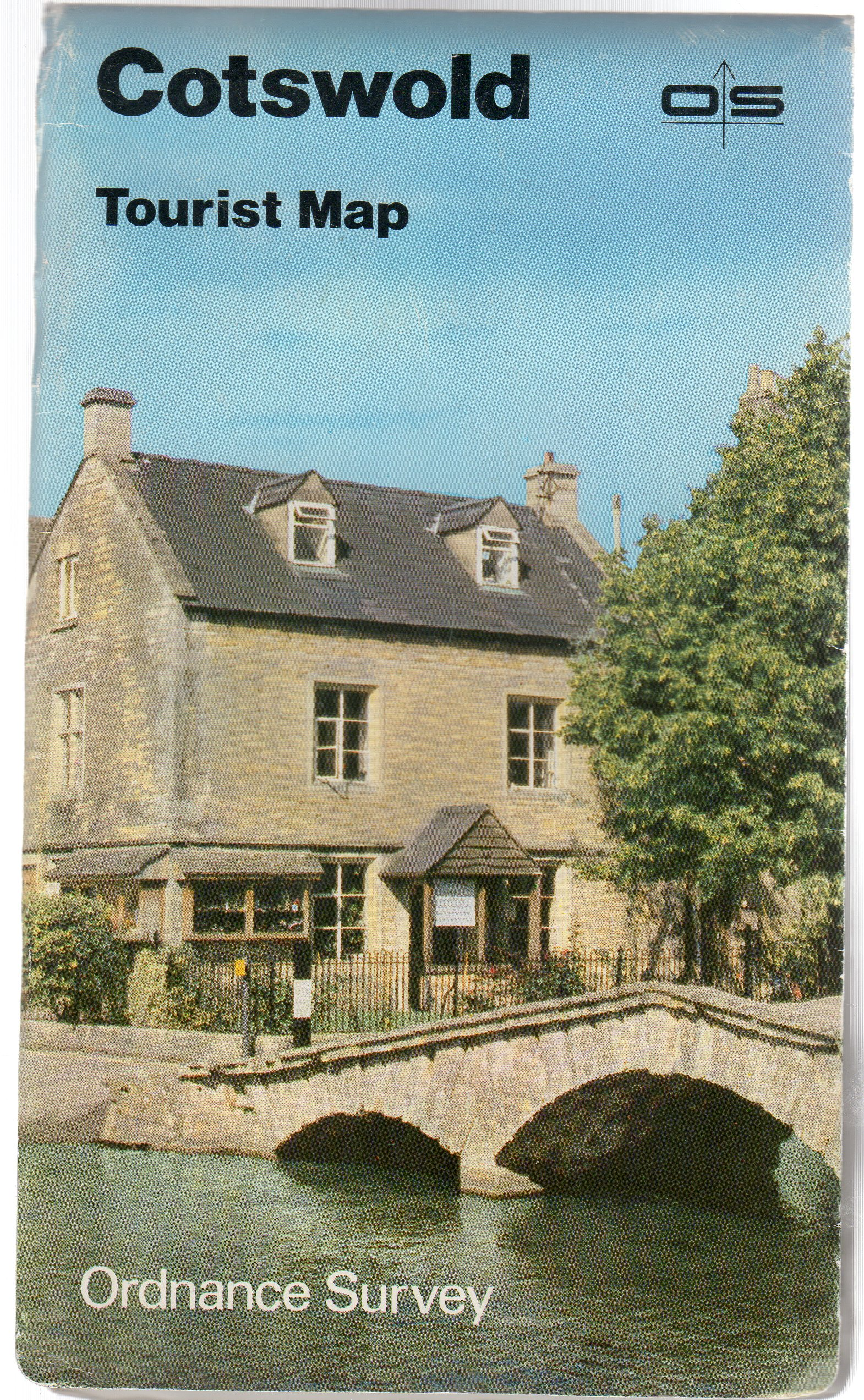 Image for Ordnance Survey Tourist Map 8 Cotswold