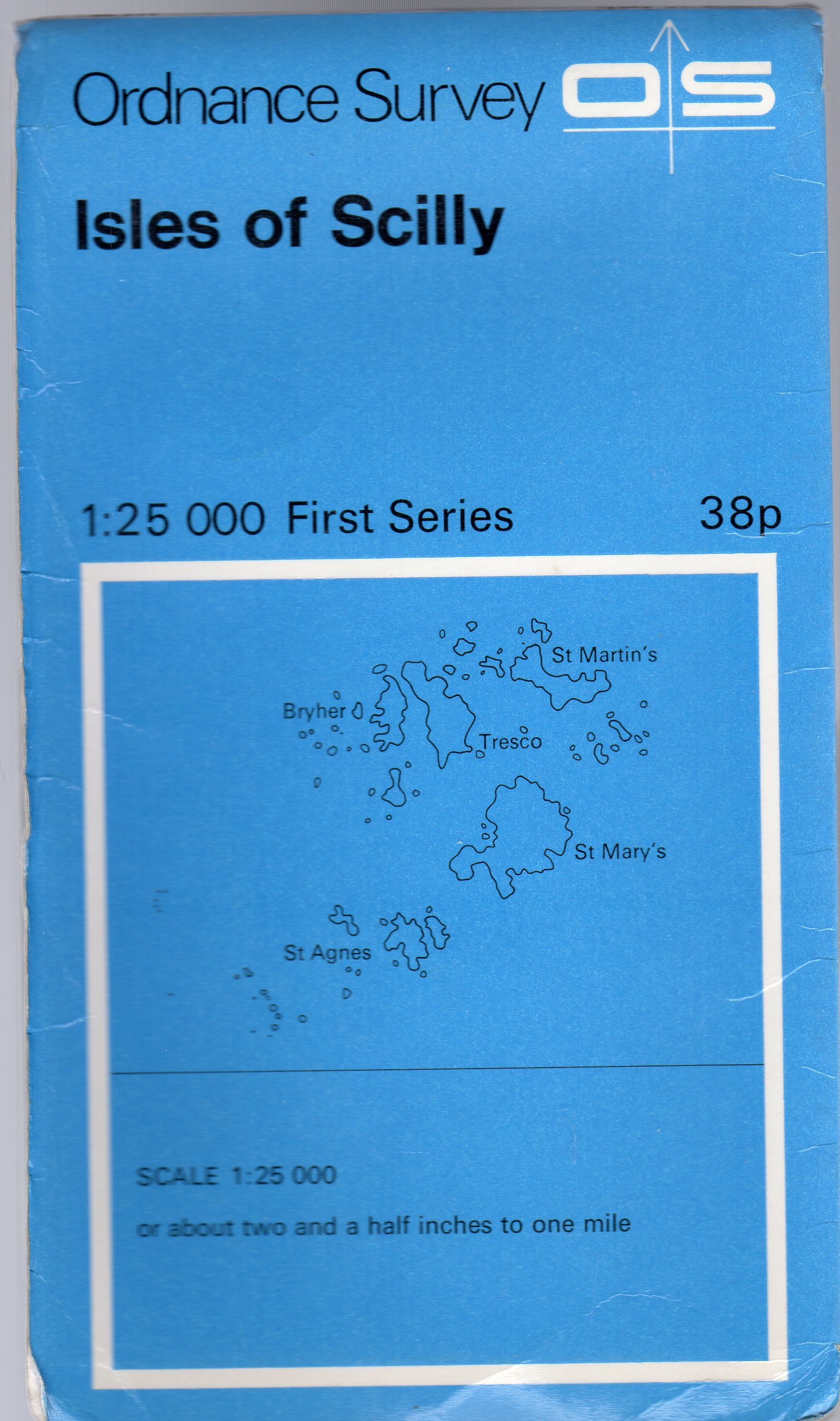Image for Ordnance Survey Isles of Scilly 1:25 000 First Series