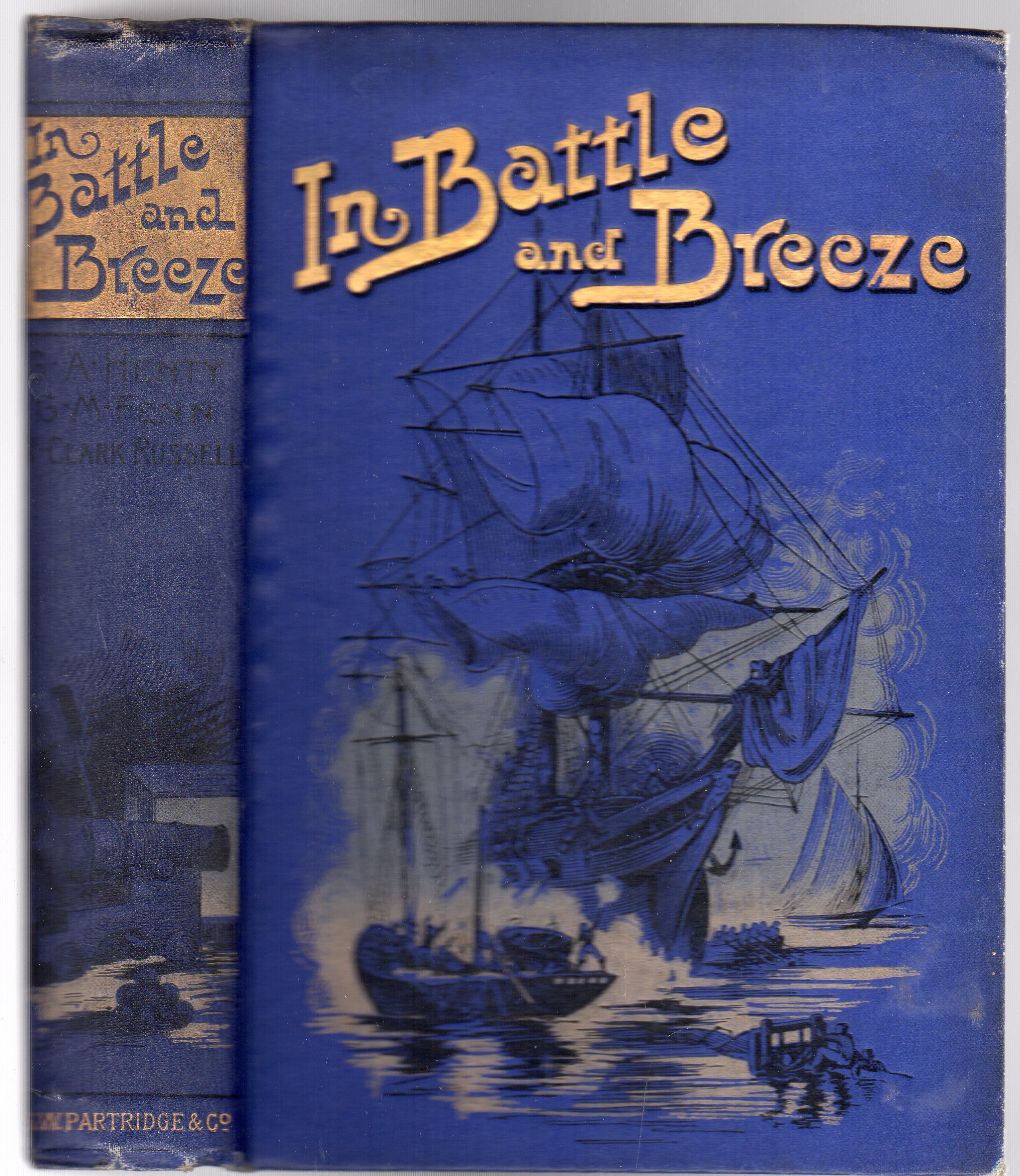 Image for In Battle and Breeze : Sea Stories