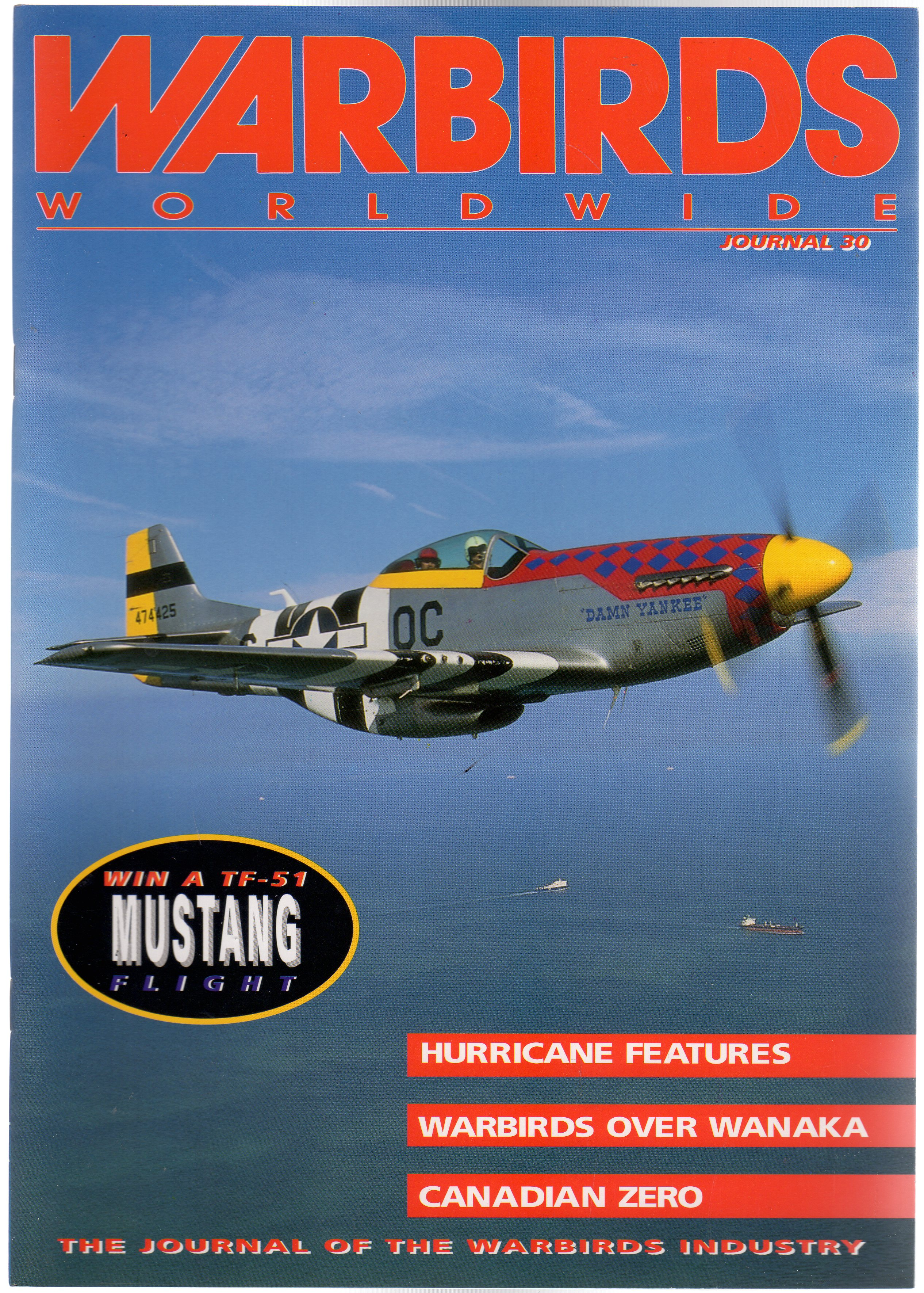 Image for Warbirds Worldwide: No 30 September 1994