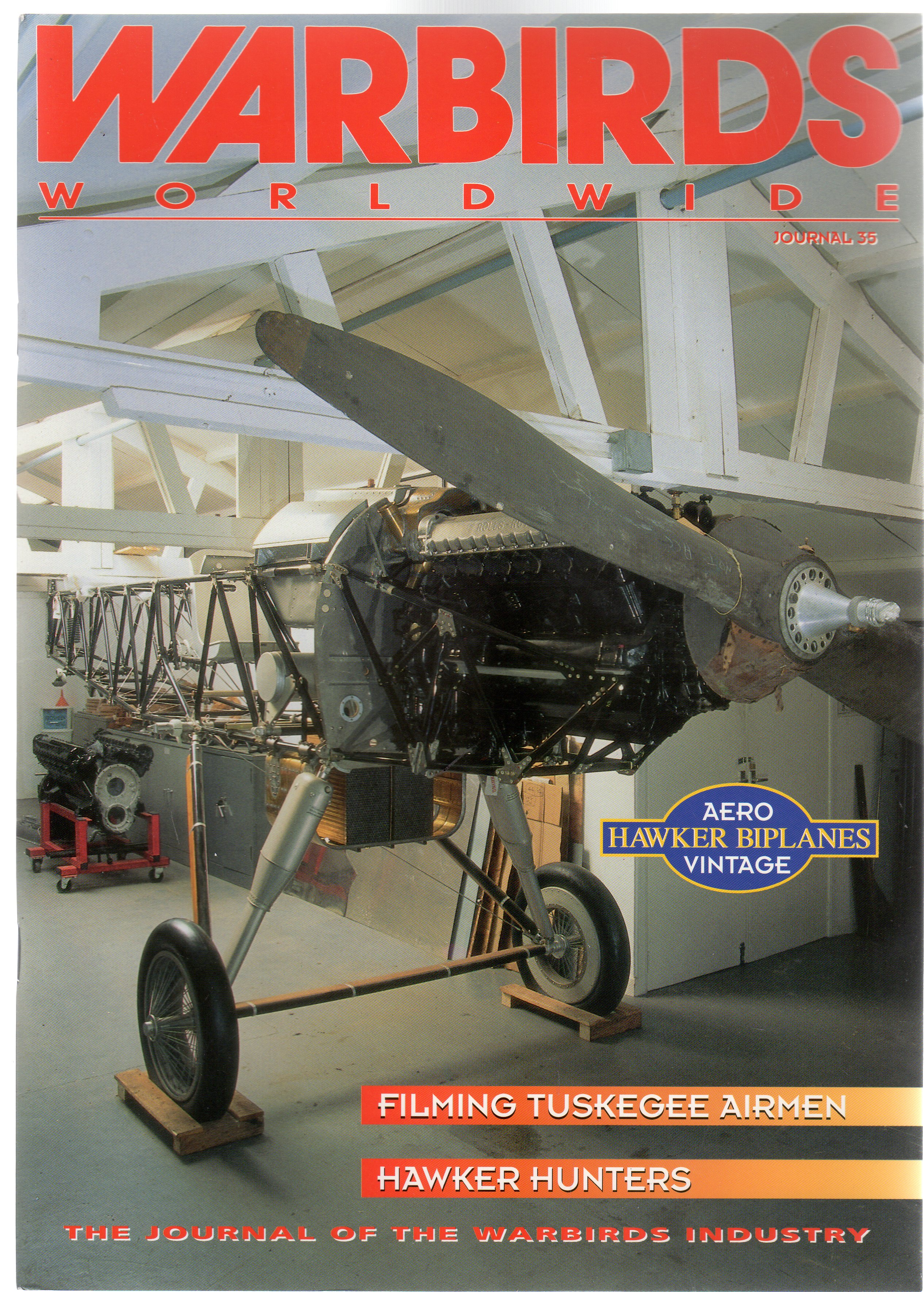 Image for Warbirds Worldwide: No 35 January 1996