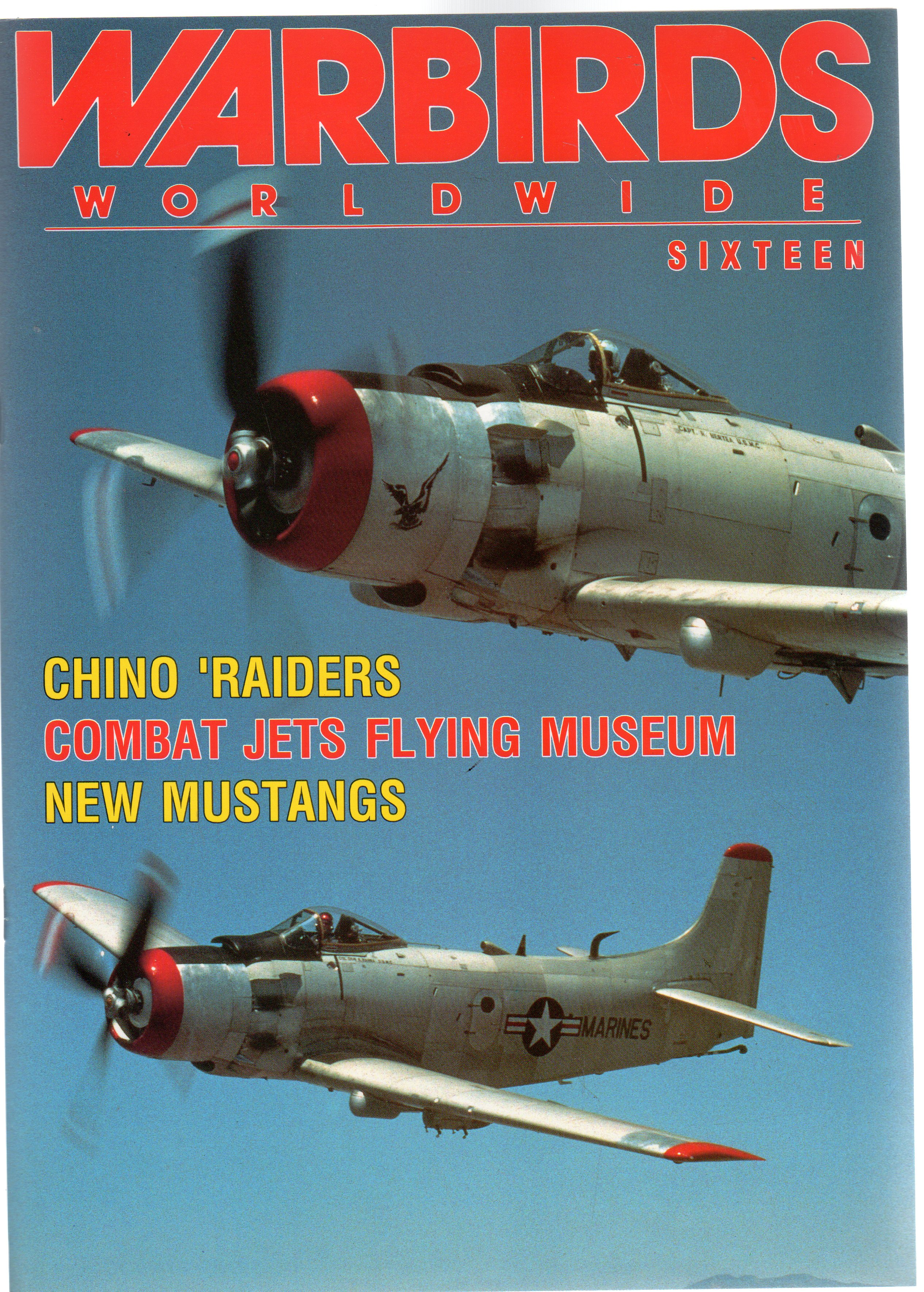 Image for Warbirds Worldwide, Sixteen March 1991