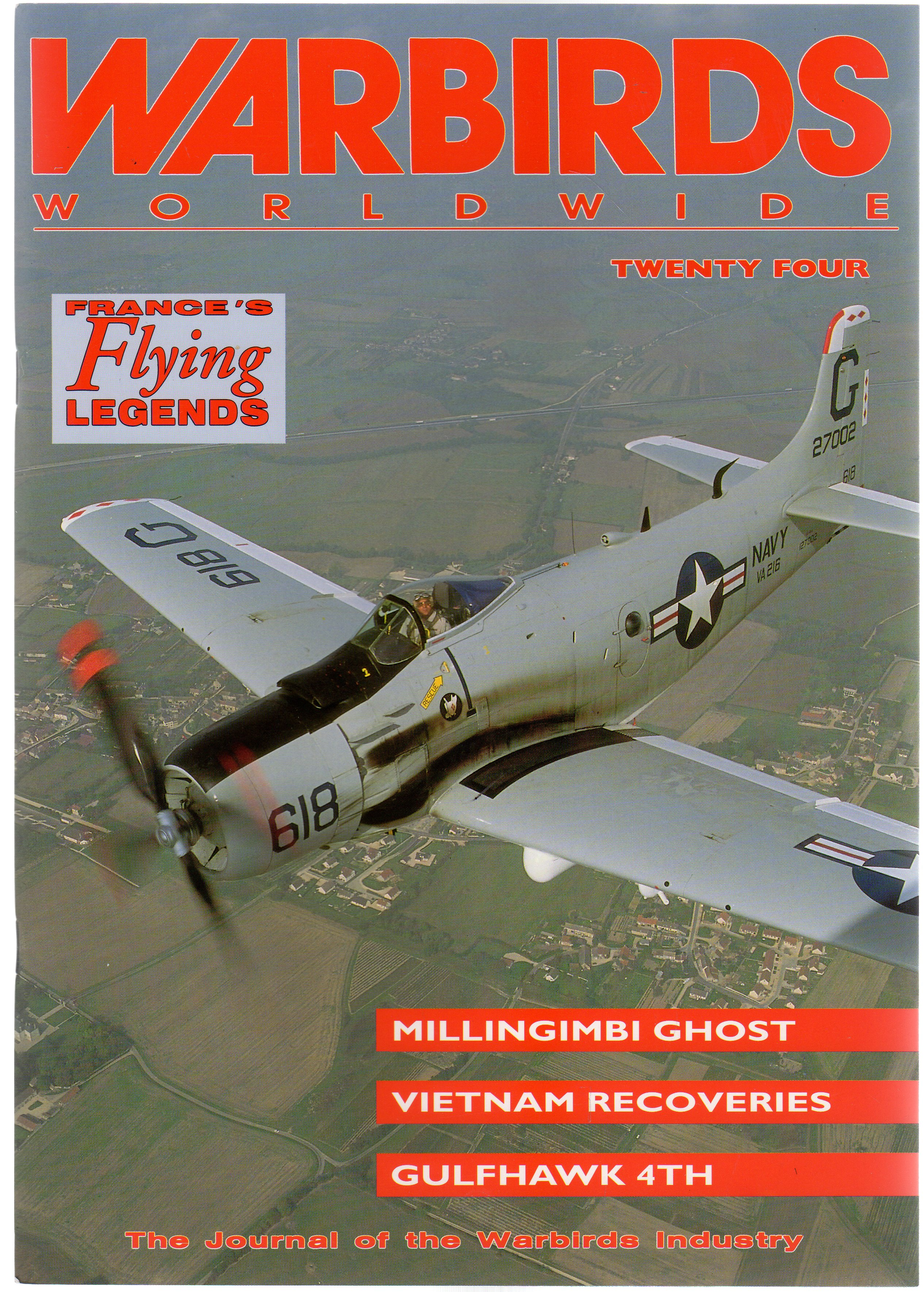 Image for Warbirds Worldwide: No 24  March 1993