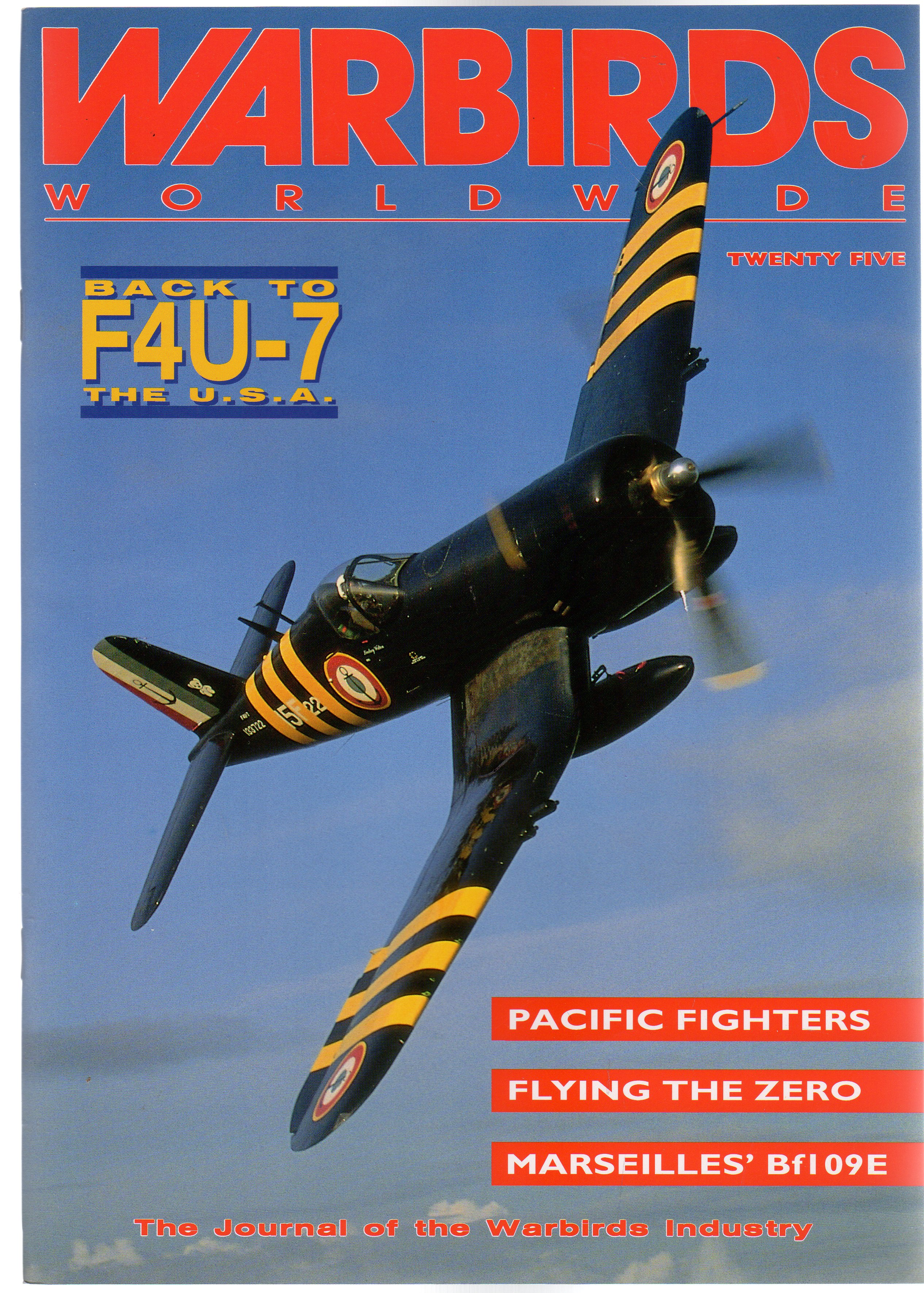 Image for Warbirds Worldwide: No 25 June 1993