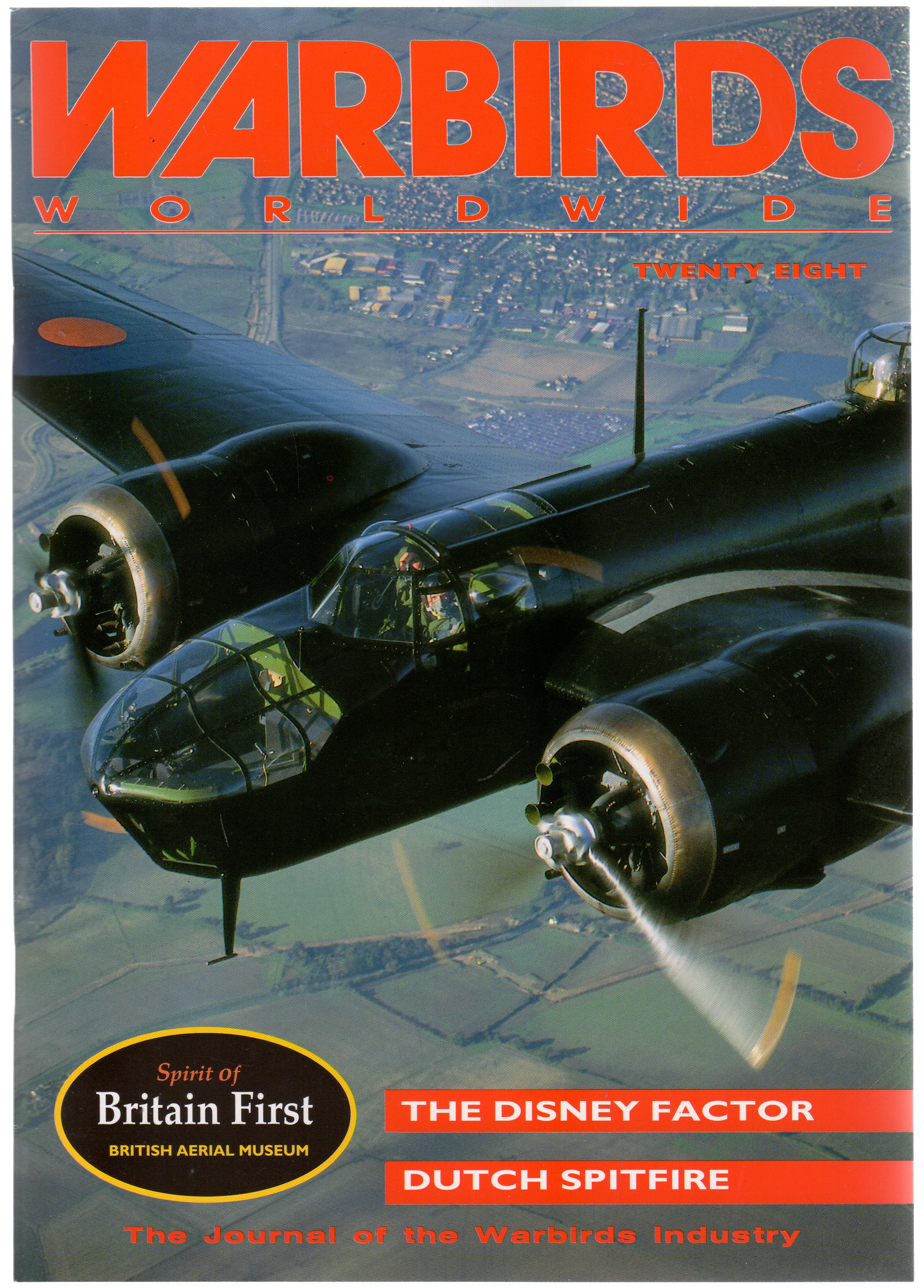 Image for Warbirds Worldwide No 28 March 1994