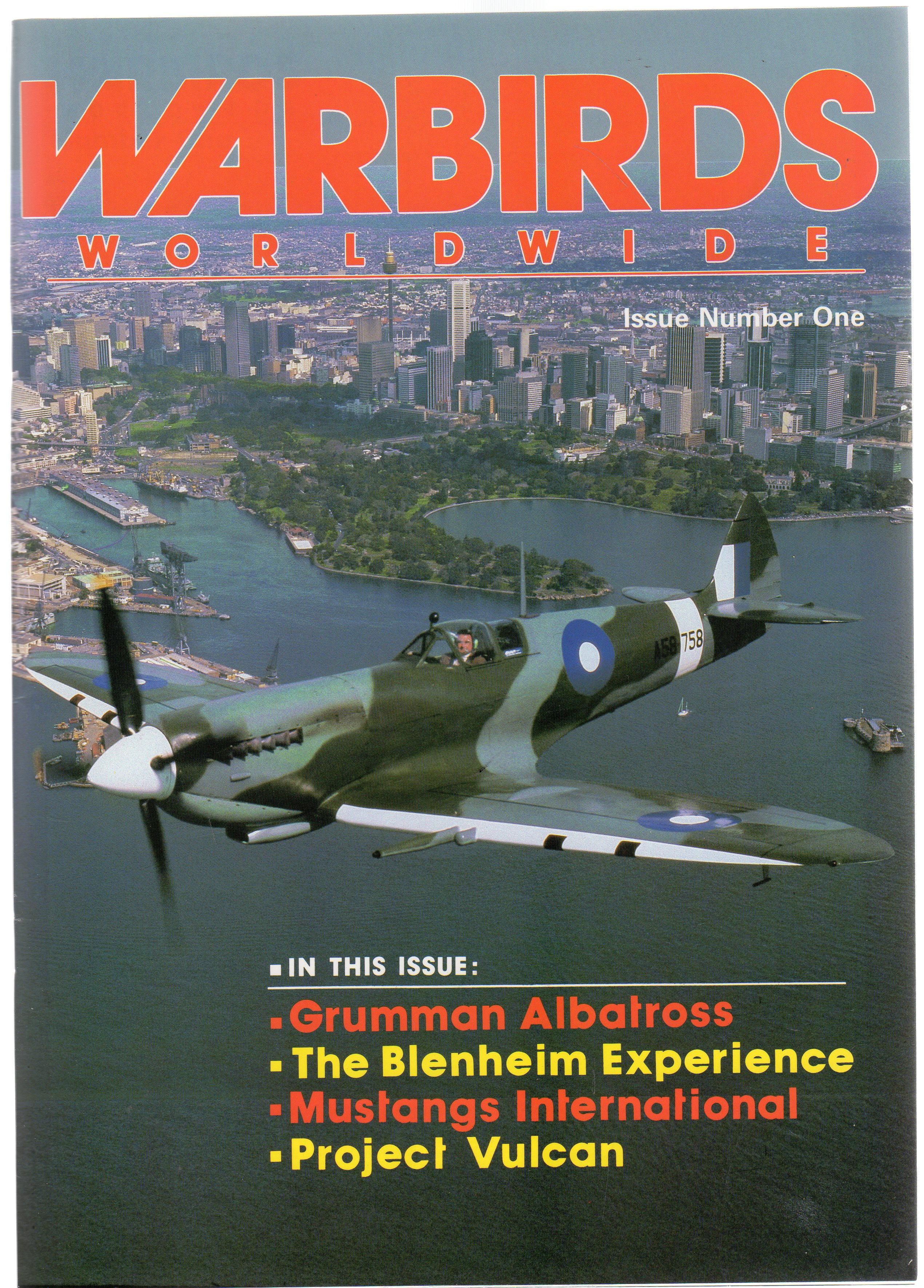 Image for Warbirds Worldwide Issue No 1