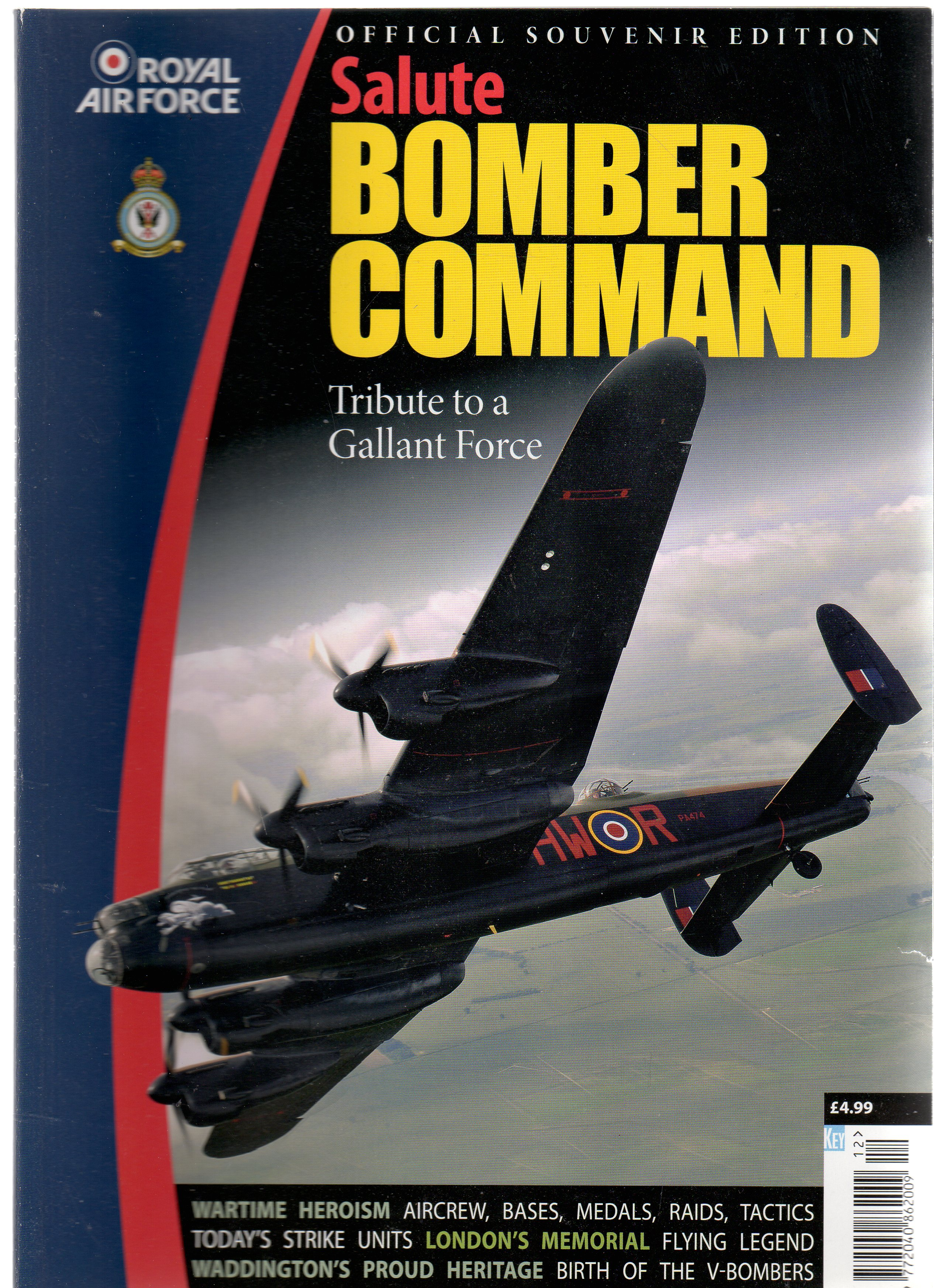 Image for Salute Bomber Command. Tribute to a Gallant Force