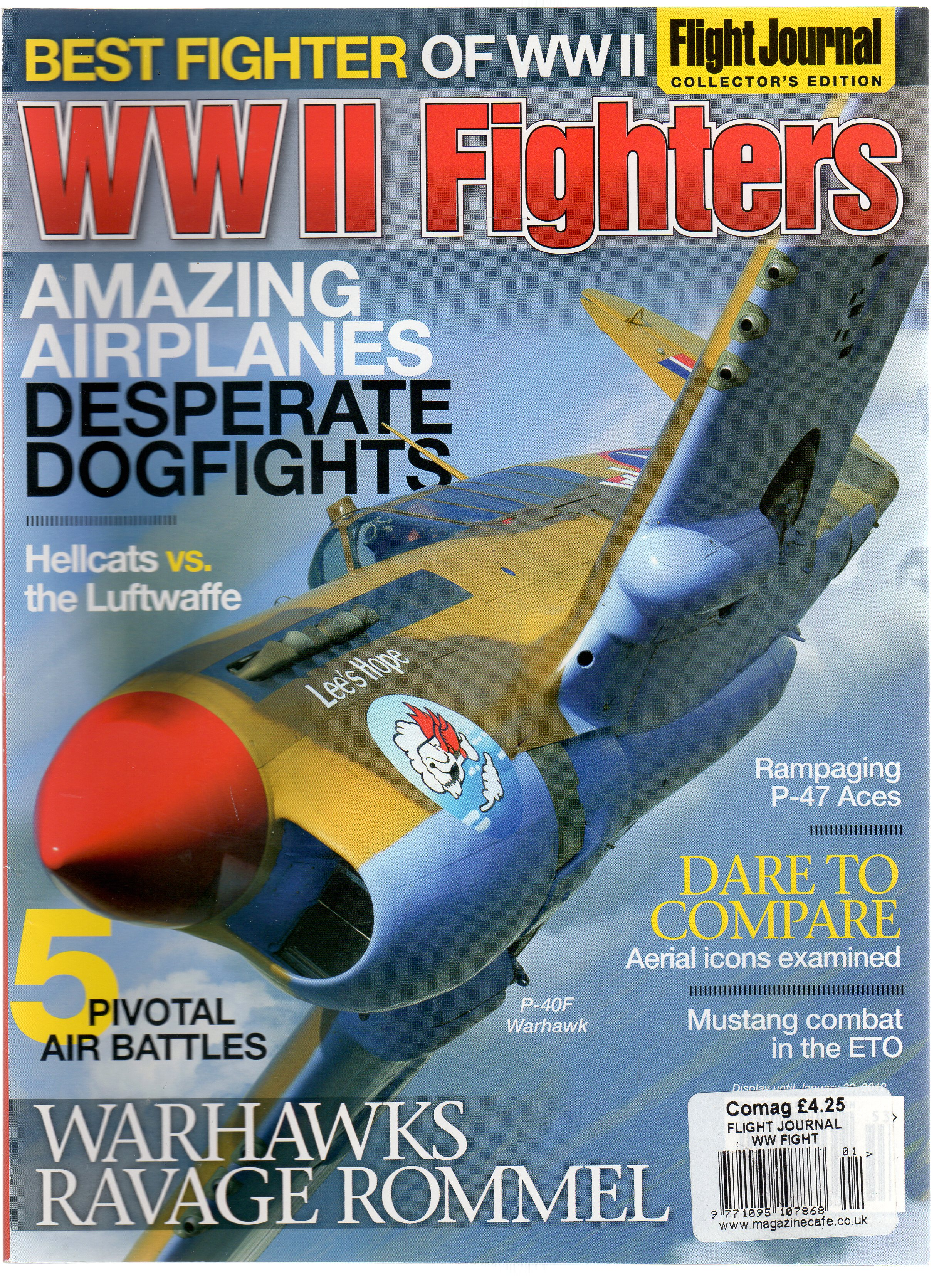 Image for WW II Fighters - Magazine Flight Journal Collector's Edition