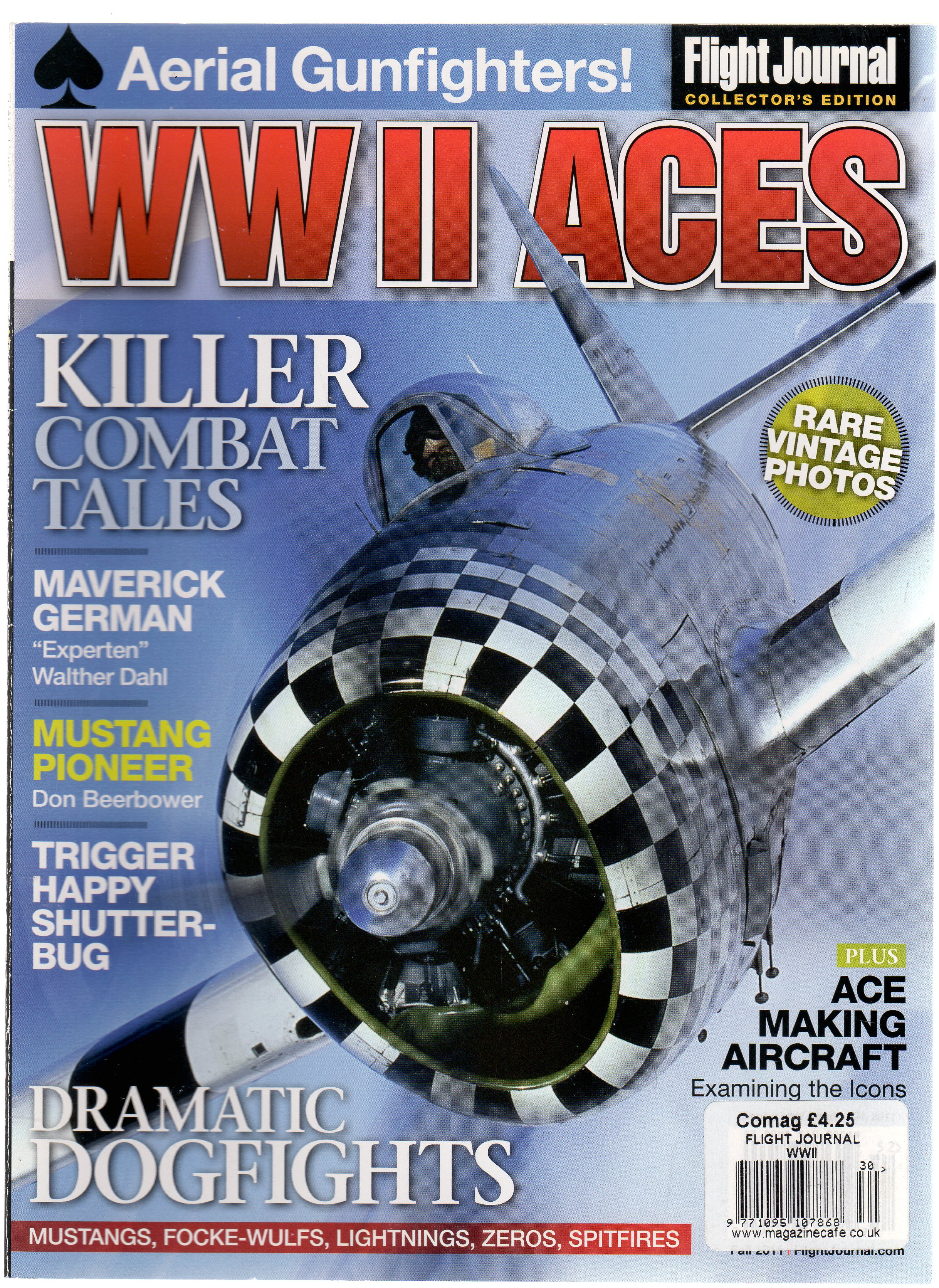 Image for WW II Aces - Magazine Flight Journal Collector's Edition
