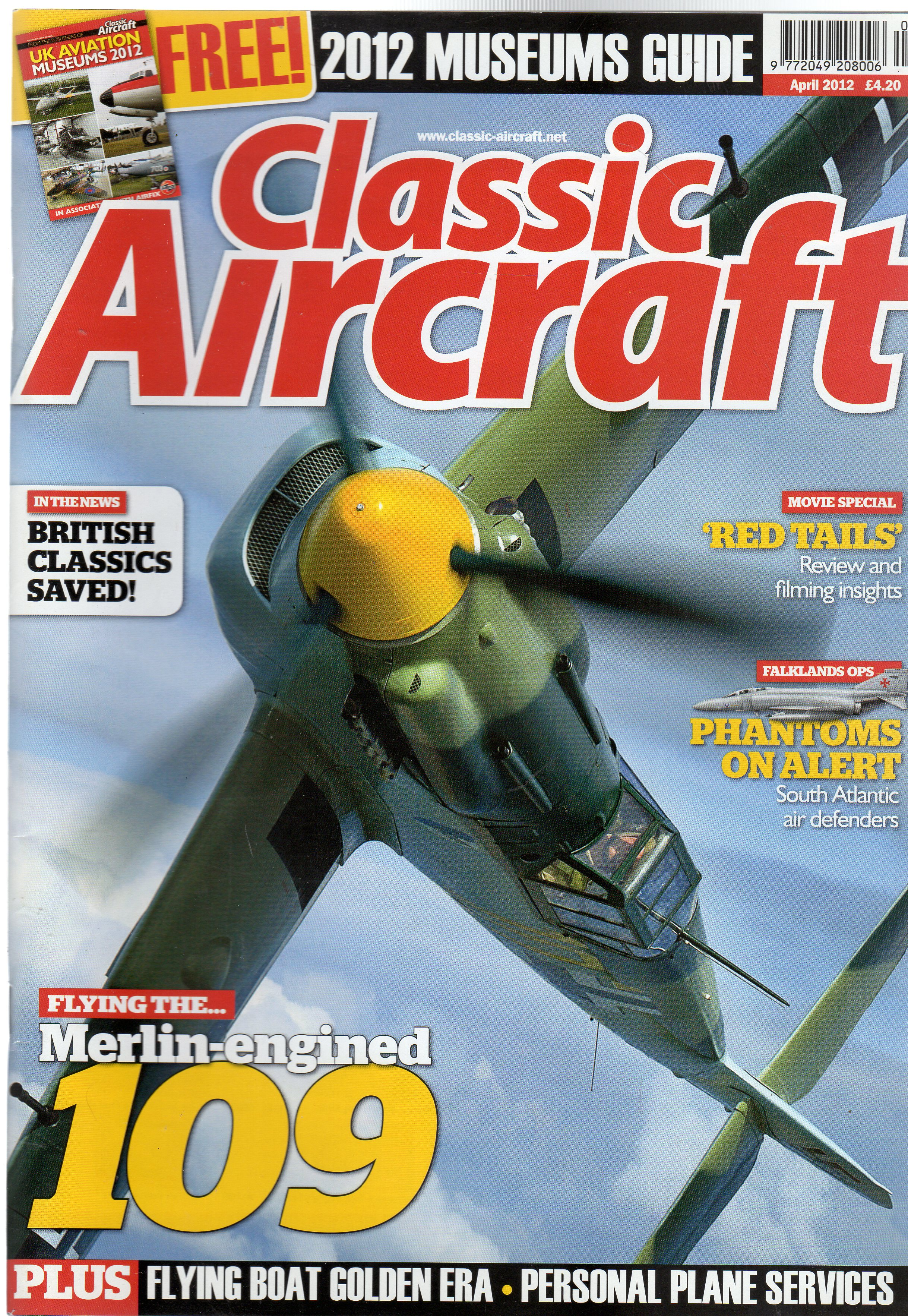 Image for Classic Aircraft April 2012