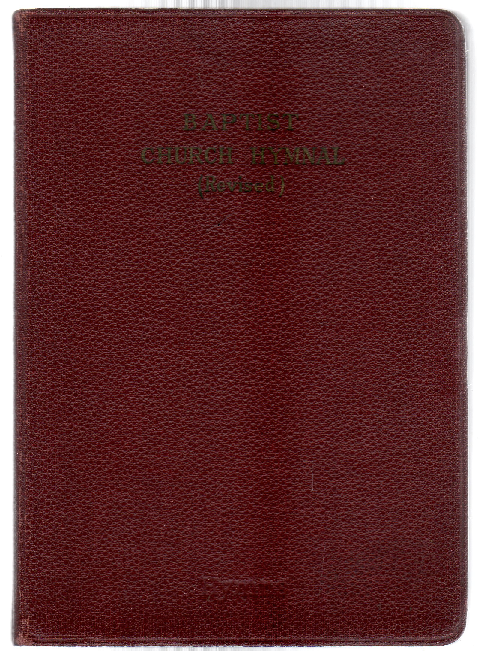 Image for The Baptist Church Hymnal Revised Edition