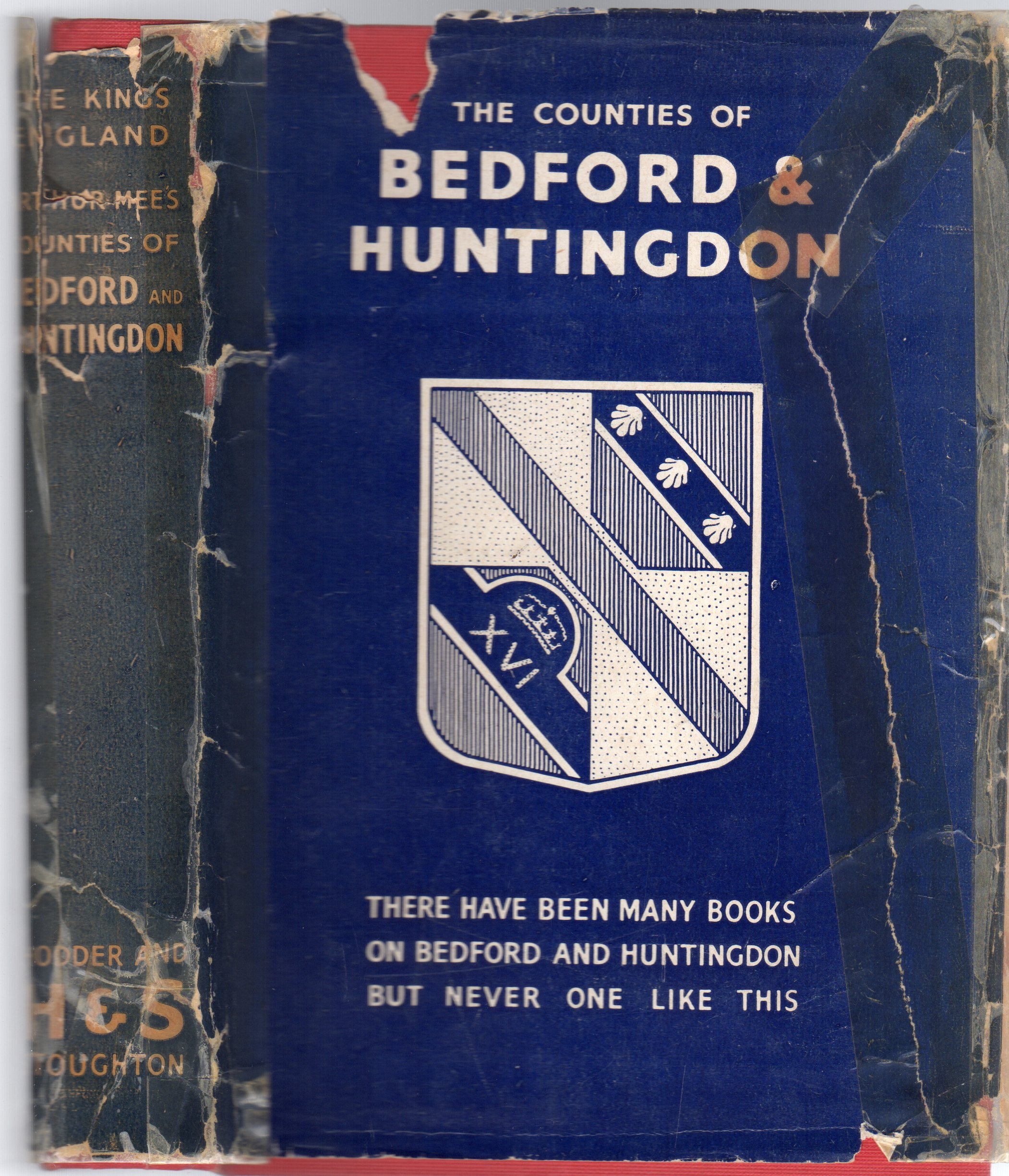 Image for The King's England : The Counties of Bedford and Huntingdon - Homes of Bunyan and Cromwell