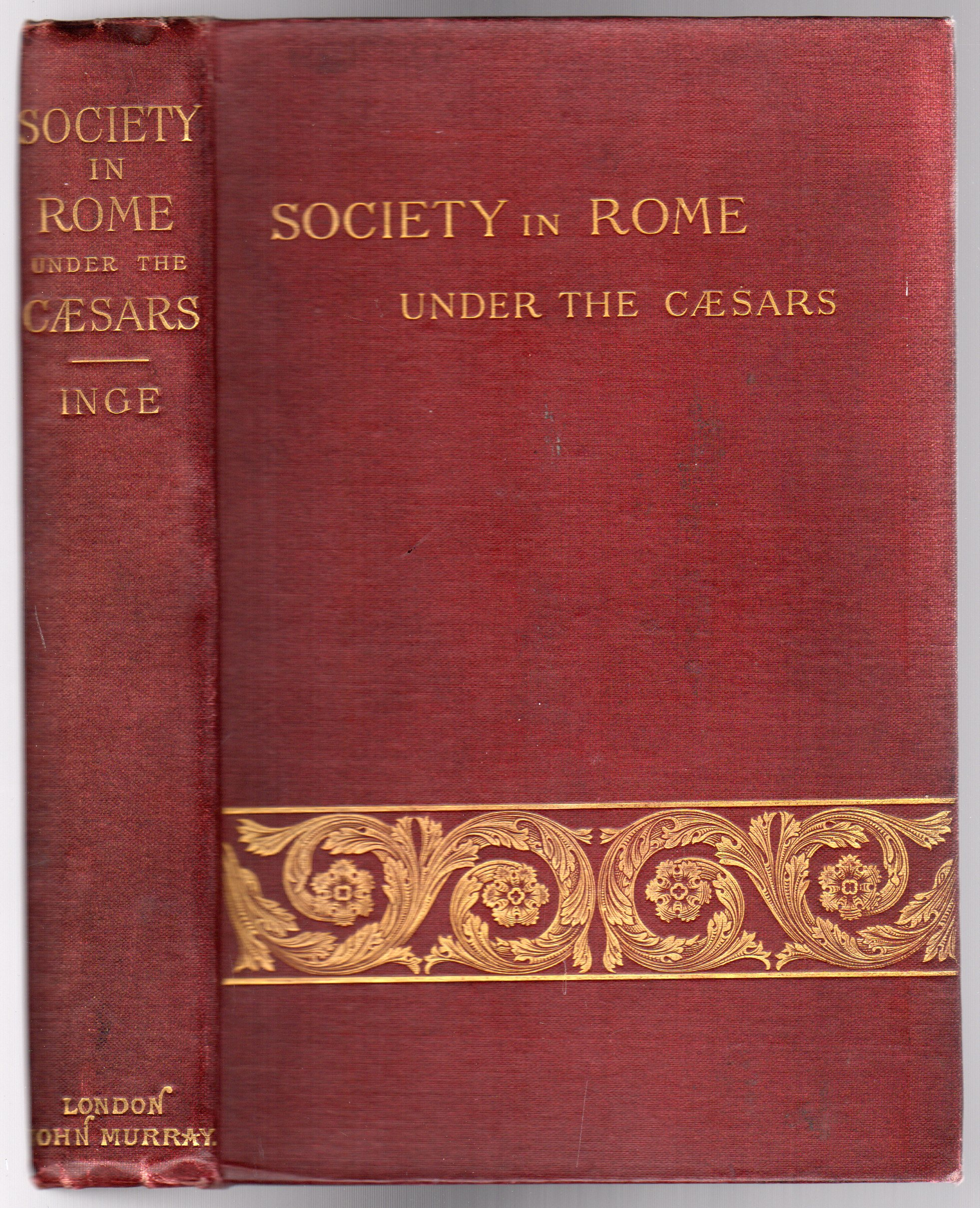 Image for Society in Rome Under the Caesars