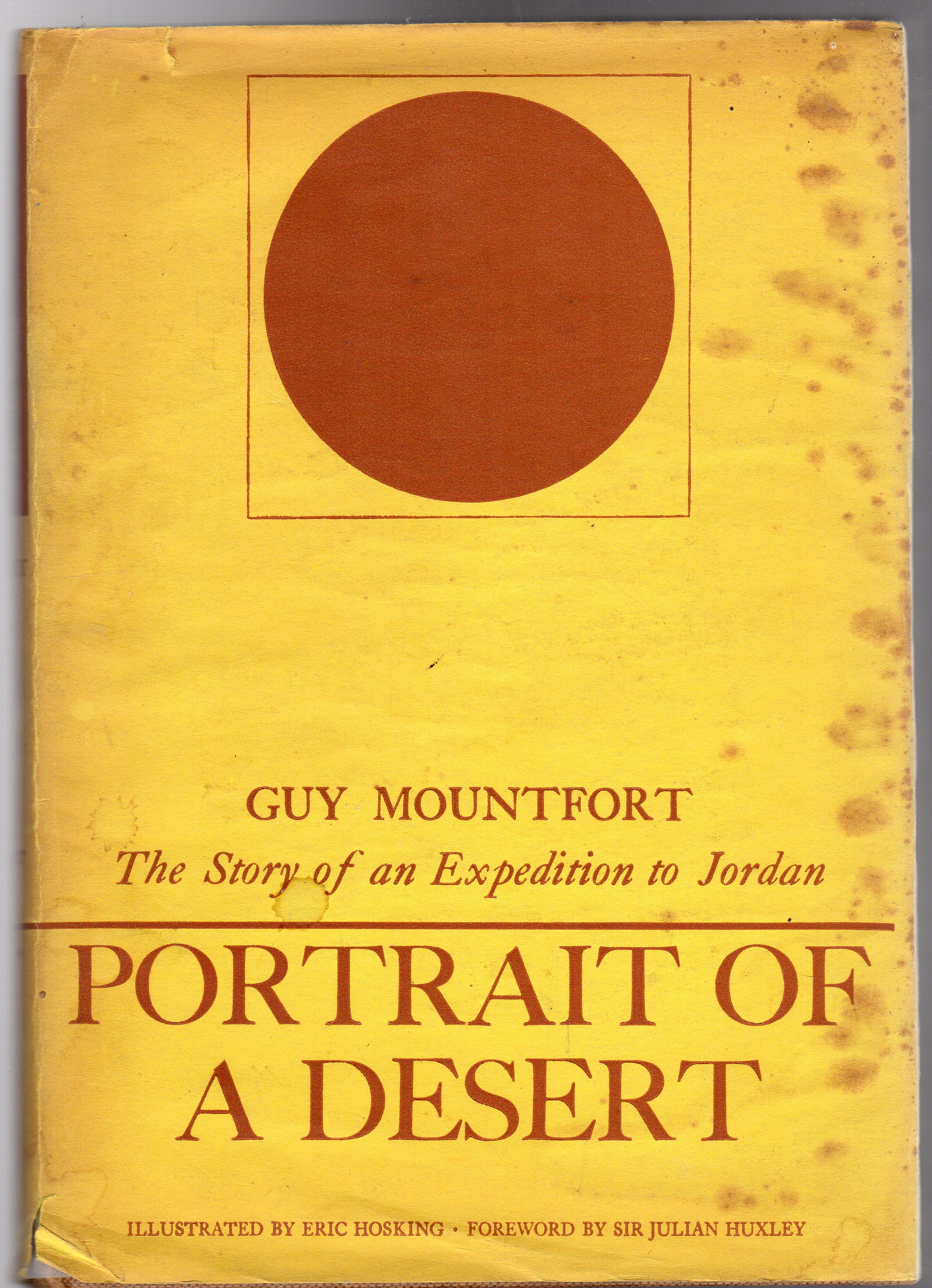 Image for Portrait of a Desert, the Story of an Expedition to Jordan