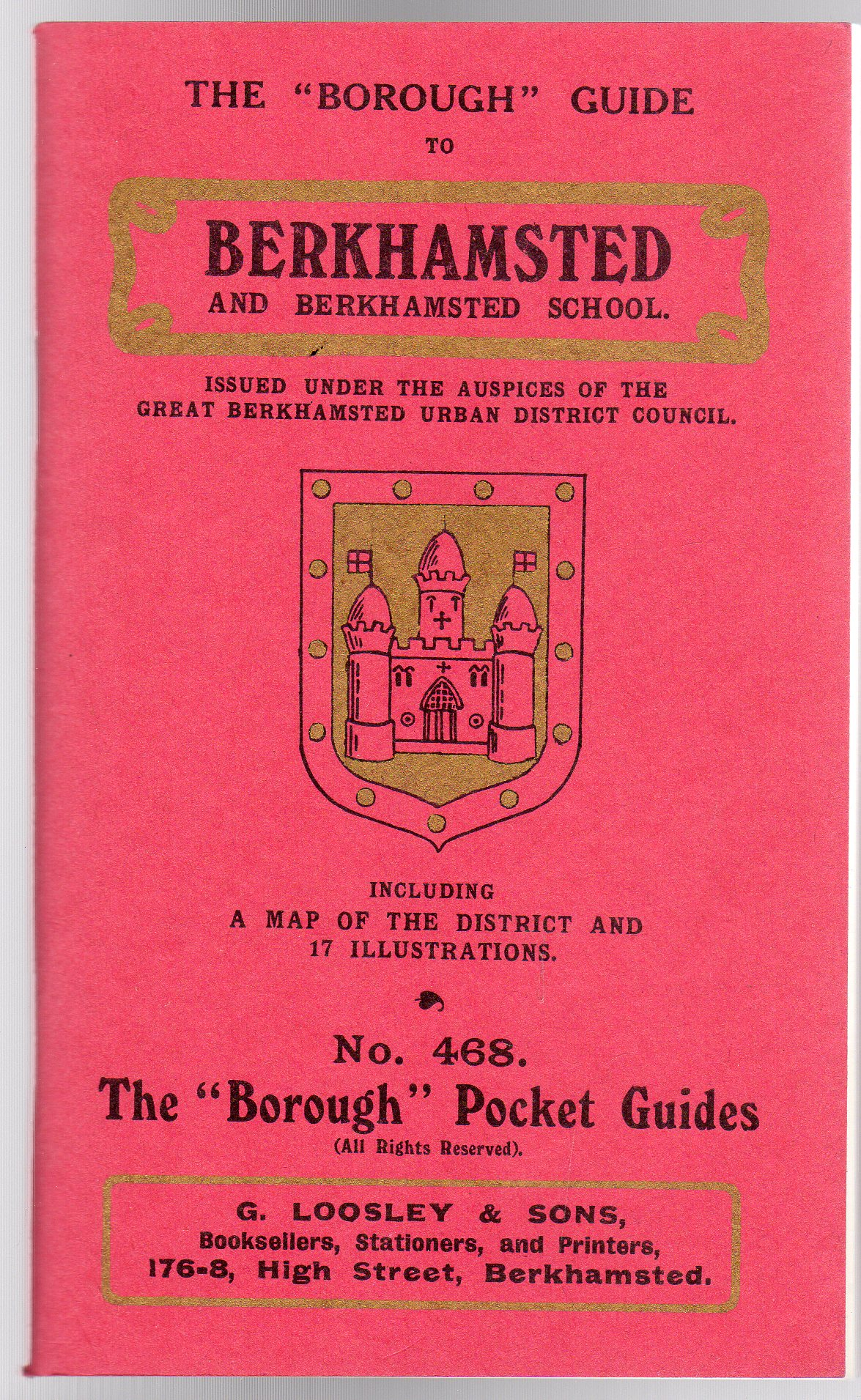 Image for The ''Borough'' Guide to Berkhamsted and Berkhamsted School