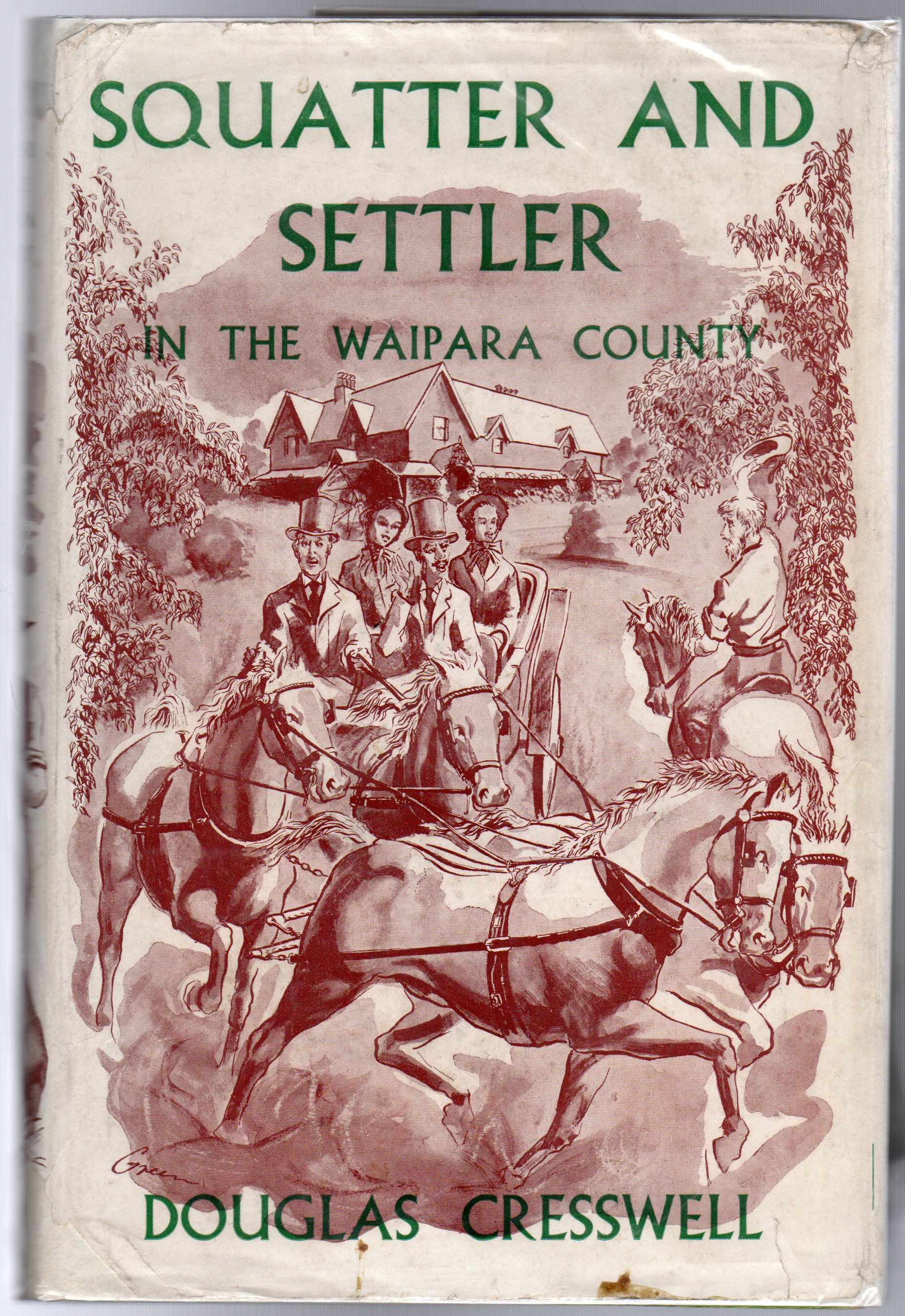 Image for Squatter and Settler in the Waipara County