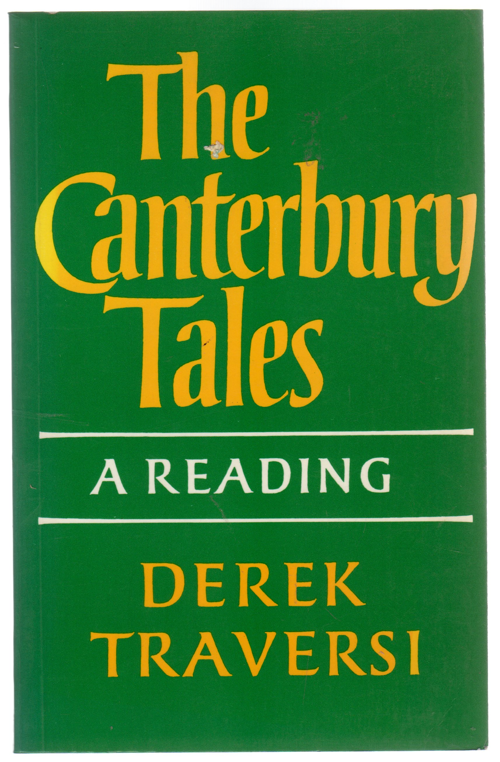 Image for The Canterbury Tales: A Reading